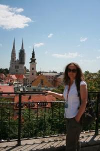Samia Zitouni, your guide in Zagreb, Croatia