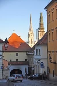 Каменная Дверь, Загреб, Хорватия